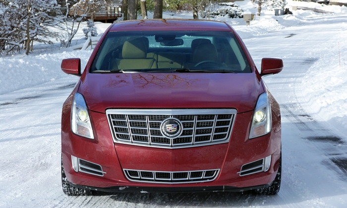 XTS Reviews: 2013 Cadillac XTS front view
