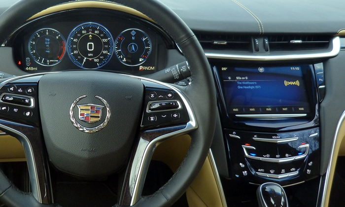 XTS Reviews: 2013 Cadillac XTS instruments