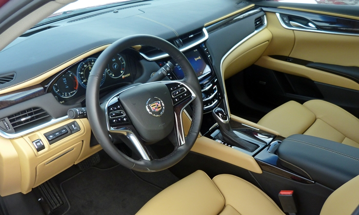 XTS Reviews: 2013 Cadillac XTS interior