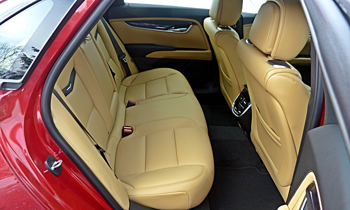XTS Reviews: 2013 Cadillac XTS rear seat
