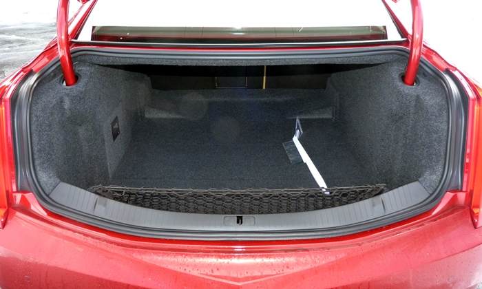 XTS Reviews: 2013 Cadillac XTS trunk