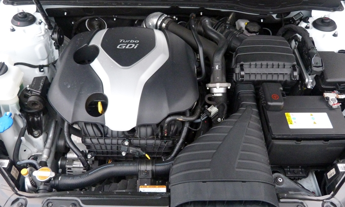 Optima Reviews: 2013 Kia Optima SXL engine