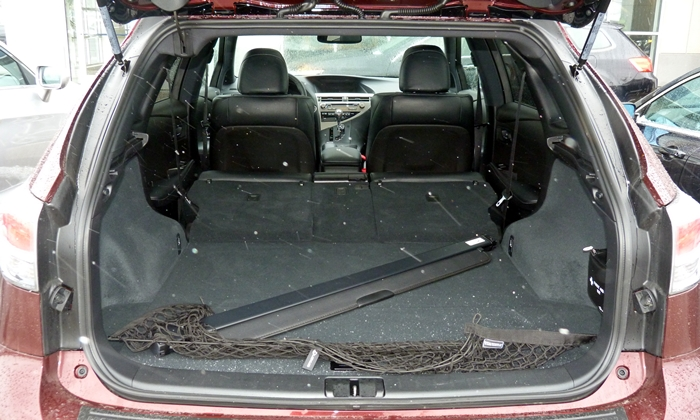 RX Reviews: 2013 Lexus RX 350 F Sport cargo area
