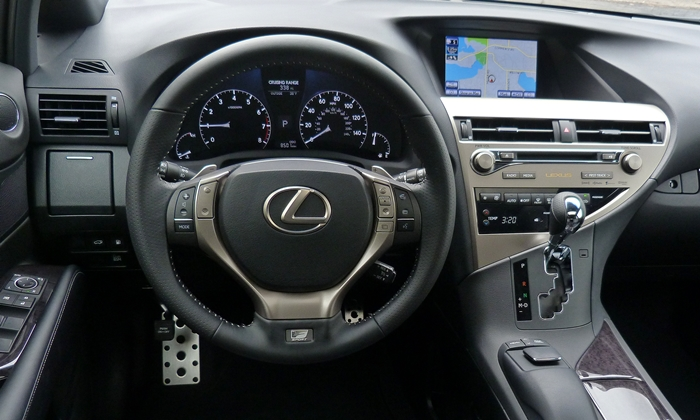 RX Reviews: 2013 Lexus RX 350 F Sport instrument panel