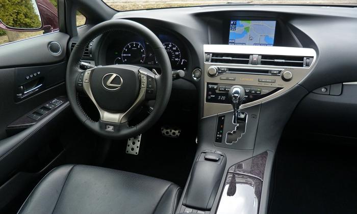Lexus Rx Photos 2013 Lexus Rx 350 F Sport Interior