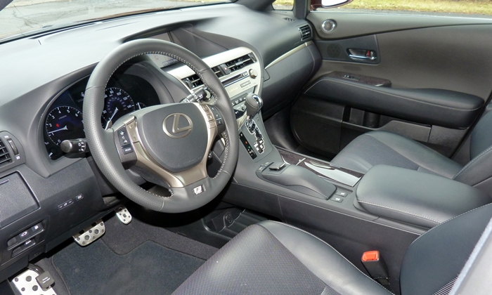 Lexus Rx Photos 2013 Lexus Rx 350 F Sport Interior From Door