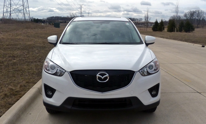 CX-5 Reviews: 2014 Mazda CX-5 Touring front view
