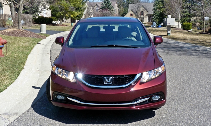 Civic Reviews: 2013 Honda Civic EX-L front