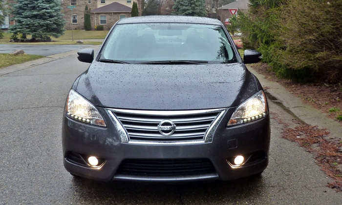 Sentra Reviews: 2013 Nissan Sentra SL front view