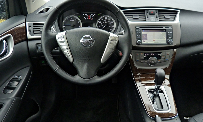 Sentra Reviews: 2013 Nissan Sentra SL Instrument Panel