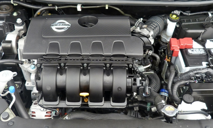 Sentra Reviews: 2013 Nissan Sentra engine