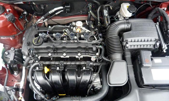 Hyundai Sonata Photos 2013 Hyundai Sonata Se Engine Uncovered