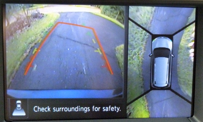 Nissan Pathfinder Photos: 2013 Nissan Pathfinder around view monitor