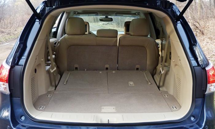 Nissan Pathfinder Photos 2013 Nissan Pathfinder Cargo