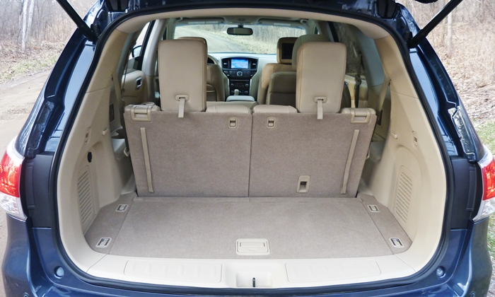 Nissan Pathfinder Photos 2013 Nissan Pathfinder Cargo Area