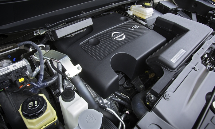 Pathfinder Reviews: 2013 Nissan Pathfinder engine