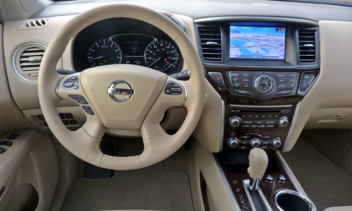 Pathfinder Reviews: 2013 Nissan Pathfinder Platinum
