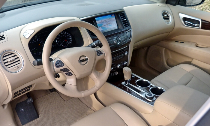 Pathfinder Reviews: 2013 Nissan Pathfinder Platinum interior