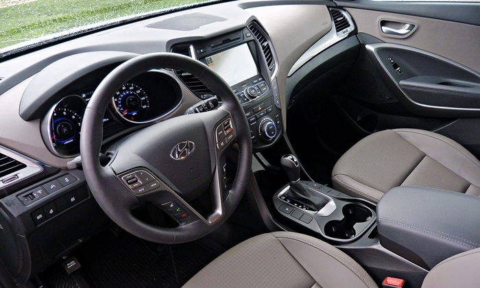 Superior Santa Fe Reviews: 2013 Hyundai Santa Fe Limited Interior