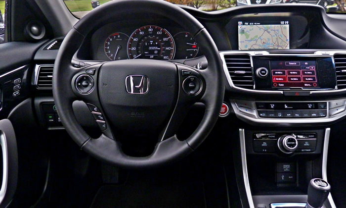 Honda Accord Photos 2013 Honda Accord Coupe V6 Instrument