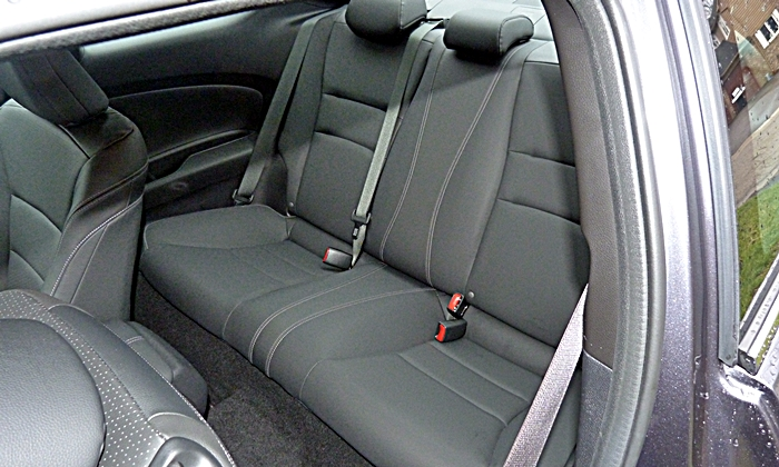 Accord Reviews: 2013 Honda Accord Coupe V6 rear seat