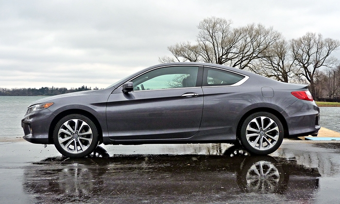 Honda Accord Photos: 2013 Honda Accord Coupe V6 side