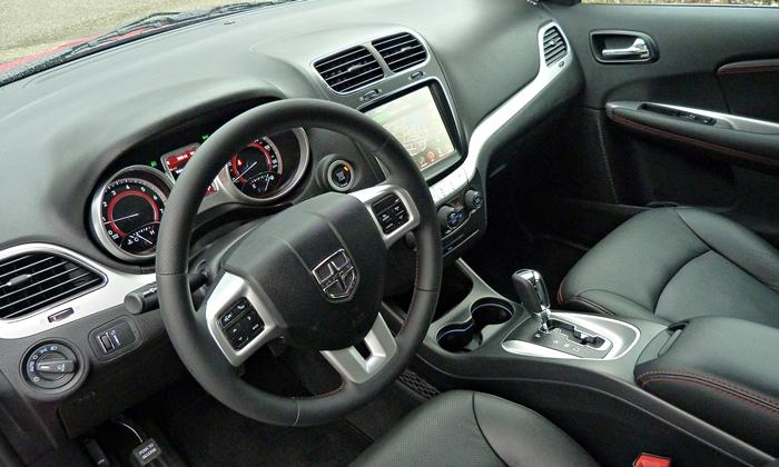 Dodge Journey Photos: 2013 Dodge Journey R/T interior