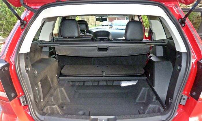 Dodge Journey Photos: 2013 Dodge Journey R/T cargo area