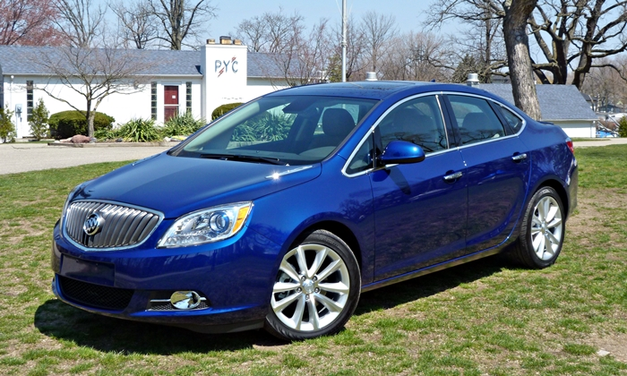 Verano Reviews: Buick Verano front quarter view