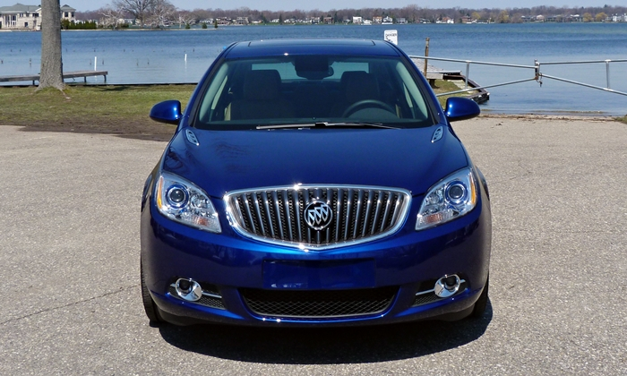 Verano Reviews: Buick Verano front view
