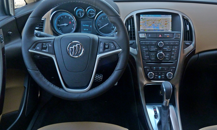 Verano Reviews: Buick Verano instrument panel