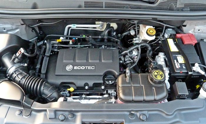 Encore Reviews: Buick Encore engine