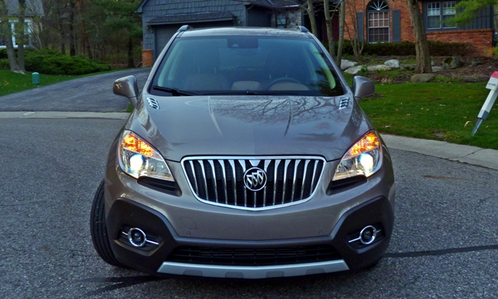 Encore Reviews: Buick Encore front view