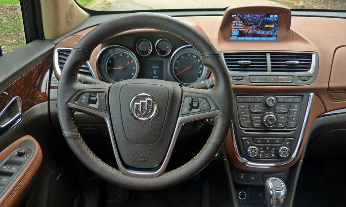 Encore Reviews: Buick Encore instrument panel