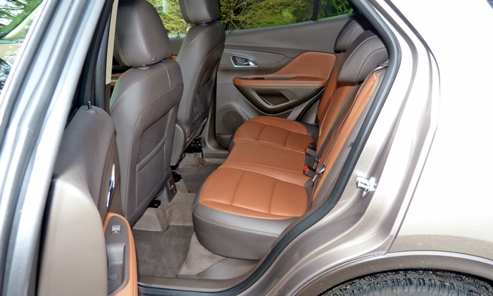Encore Reviews: Buick Encore rear seat