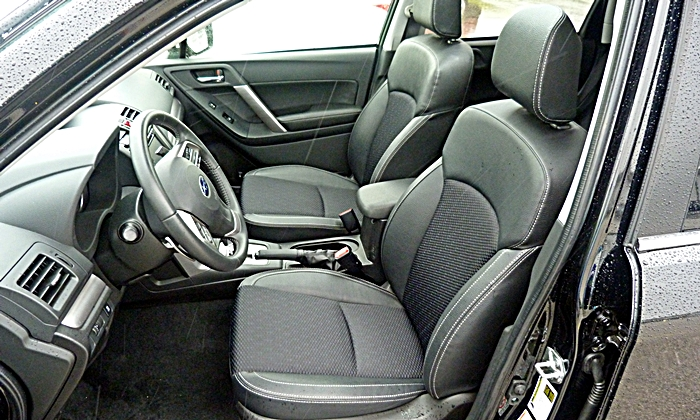 Forester Reviews: 2014 Subaru Forester XT Premium front seats