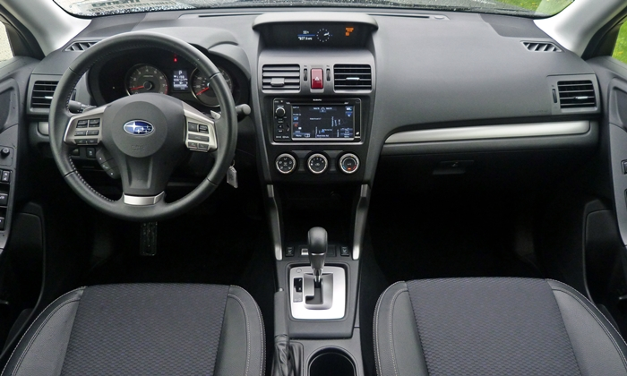 Subaru Forester Photos: 2014 Subaru Forester XT instrument panel full