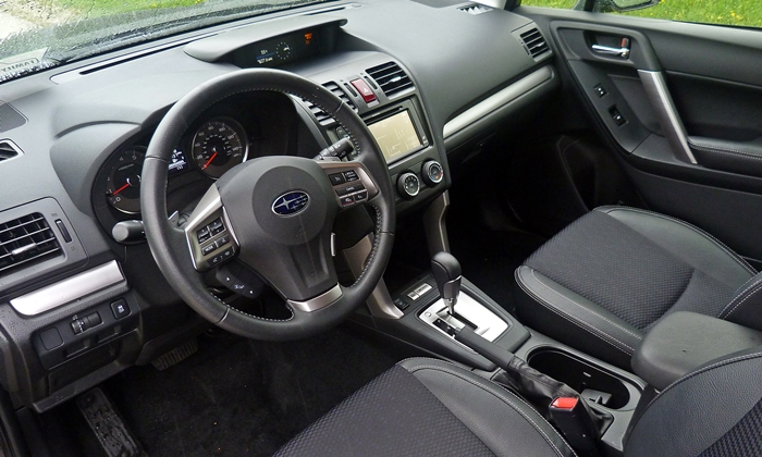 Subaru Forester Photos: 2014 Subaru Forester XT Premium interior