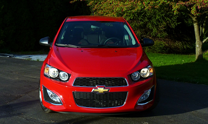 Sonic Reviews: Chevrolet Sonic RS front