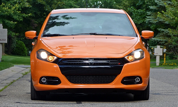 Dart Reviews: Dodge Dart GT front