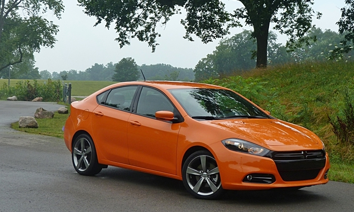 Dart Reviews: Dodge Dart GT front quarter