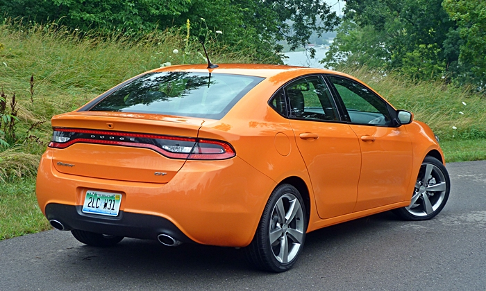 Dodge Dart Photos: Dodge Dart GT rear view