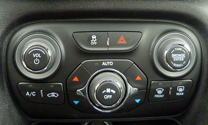 Dodge Dart Photos: Dodge Dart knobs
