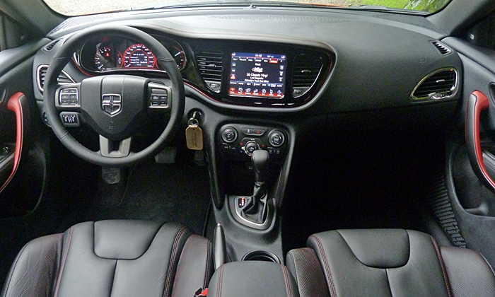 Dodge Dart Photos: Dodge Dart GT instrument panel full width