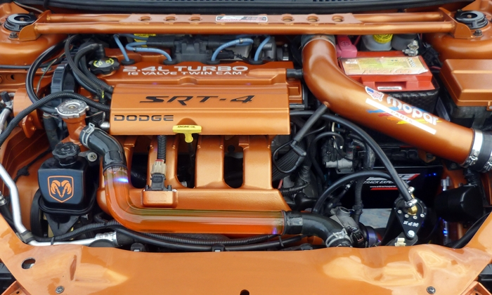 Dodge Dart Photos: Modified Dodge Neon SRT4 engine