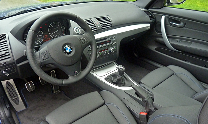 1-Series Reviews: BMW 135is interior