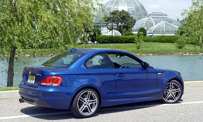 1-Series Reviews: BMW 135is rear quarter Belle Isle