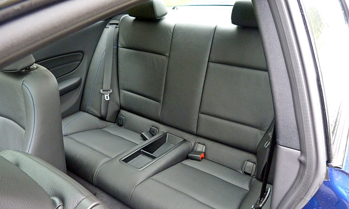 BMW 1-Series Photos: BMW 135is rear seat