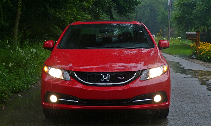 Civic Reviews: 2013 Civic Si front