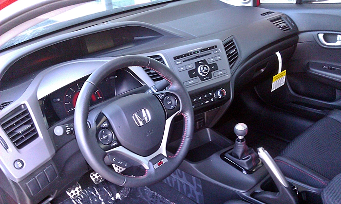 Honda Civic Photos: 2012 Civic Si interior